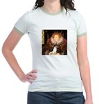 Queen / Rat Terrier Jr. Ringer T-Shirt