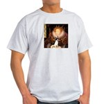 Queen / Rat Terrier Light T-Shirt
