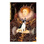 Queen / Rat Terrier Postcards (Package of 8)