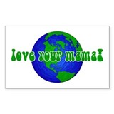 Your Mama Rectangle Decal