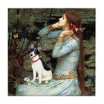 Ophelia / Rat Terrier Tile Coaster
