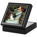 Ophelia / Rat Terrier Keepsake Box