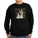 Ophelia / Rat Terrier Sweatshirt (dark)