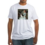 Ophelia / Rat Terrier Fitted T-Shirt