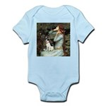 Ophelia / Rat Terrier Infant Bodysuit