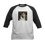 Ophelia / Rat Terrier Kids Baseball Jersey