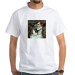 Ophelia / Rat Terrier White T-Shirt
