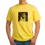 Ophelia / Rat Terrier Yellow T-Shirt