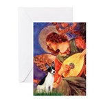 Mandolin / Rat Terrier Greeting Cards (Pk of 10)