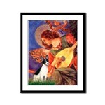 Mandolin / Rat Terrier Framed Panel Print