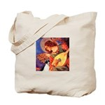 Mandolin / Rat Terrier Tote Bag