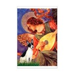 Mandolin / Rat Terrier Mini Poster Print