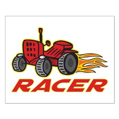 Tractor Racing Posters