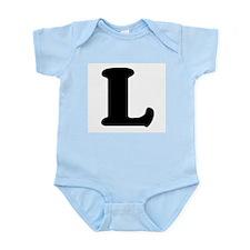 Large Letter L Infant Creeper