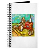 Van Gogh Tractor Journal