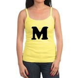 Large Letter M Ladies Top