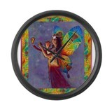 Egypt music Large Wall Clock