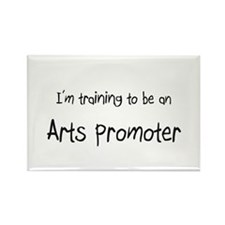 I'm Training To Be An Arts Promoter Rectangle Magn