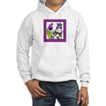 BIRD BRAIN No. 5.. Hooded Sweatshirt (Adult Sizes)