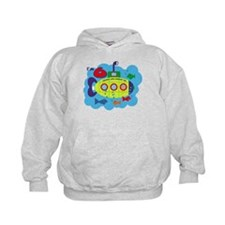 Submarine 6th Birthday Hoodie