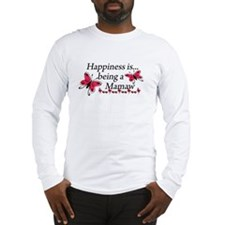 Butterfly Being A Mamaw Long Sleeve T-Shirt