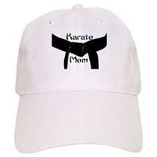 Martial Arts Karate Mom Baseball Cap