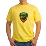 Huachuca City Police Yellow T-Shirt