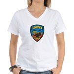 Huachuca City Police Women's V-Neck T-Shirt