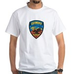 Huachuca City Police White T-Shirt