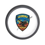 Huachuca City Police Wall Clock