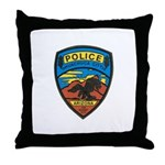 Huachuca City Police Throw Pillow