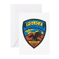 Huachuca City Police Greeting Cards (Pk of 10)