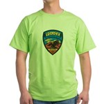 Huachuca City Police Green T-Shirt