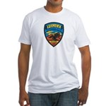 Huachuca City Police Fitted T-Shirt