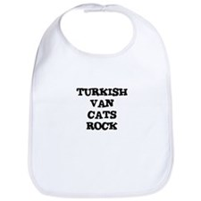 TURKISH VAN  CATS ROCK Bib