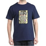 """Wanted"" T-Shirt"
