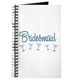 Blue M Martini Bridesmaid Journal