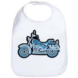 My First Blue Bike Bib