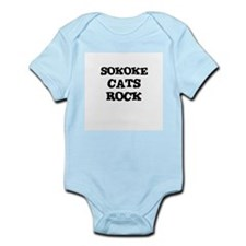 SOKOKE CATS ROCK Infant Creeper