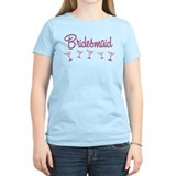 Pink M Martini Bridesmaid T-Shirt