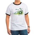 Hawaii Recycle T-Shirts and Gifts Ringer T