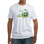 Hawaii Recycle T-Shirts and Gifts Fitted T-Shirt