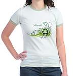 Hawaii Recycle T-Shirts and Gifts Jr. Ringer T-Shi