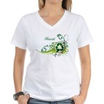 Hawaii Recycle T-Shirts and Gifts Women's V-Neck T