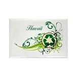 Hawaii Recycle T-Shirts and Gifts Rectangle Magnet