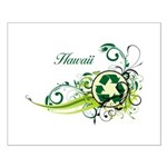 Hawaii Recycle T-Shirts and Gifts Small Poster