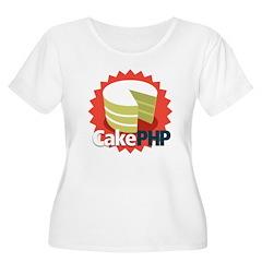 CakePHP 1.2 Women's Plus Size Scoop Neck T-Shirt