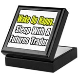 """..Sleep with Futures Trader"" Keepsake Box"