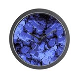 Guitar Pick Art #10 Wall Clock