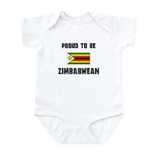 Proud To Be ZIMBABWEAN Infant Bodysuit